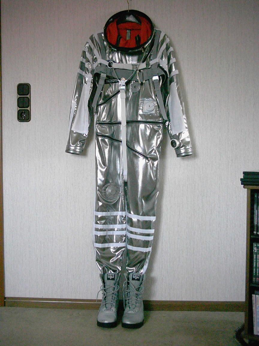 mercury space suit blueprints